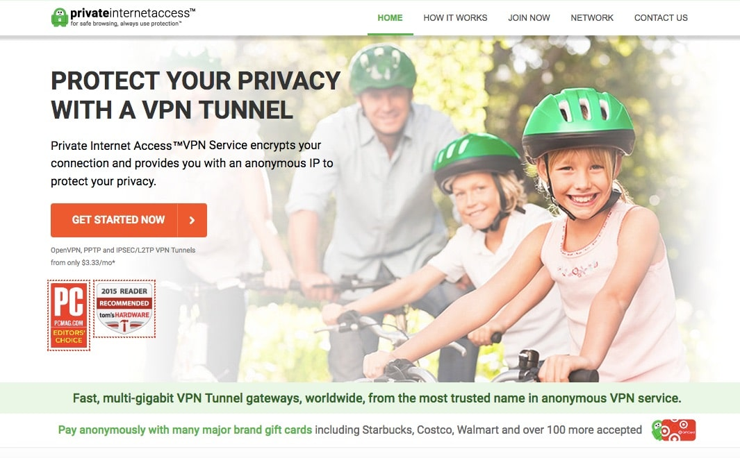 PrivateInternetAccess - Best VPN Service Provider for Highly Secured Private Internet Access
