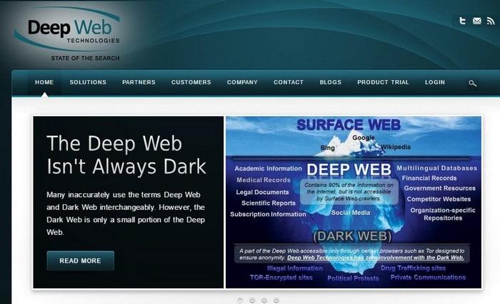 Deep Web Technolgies Hidden web search engine - Top 10 Best Deep Web Search Engines to Explore Hidden Web