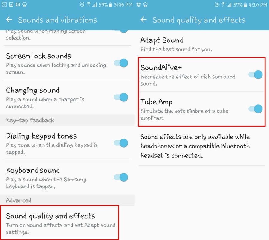 Settings for Best Sound on Android - Equalizer Sound Booster - Top 7 Best Equalizer Sound Booster App for Android to Boost Sound Quality on Android