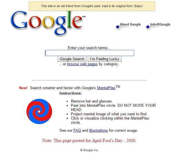 The Best Pranks by Google - Google MentalPlex, Google Gulp and Other Funny Google's April Fool FAQs You Should Know