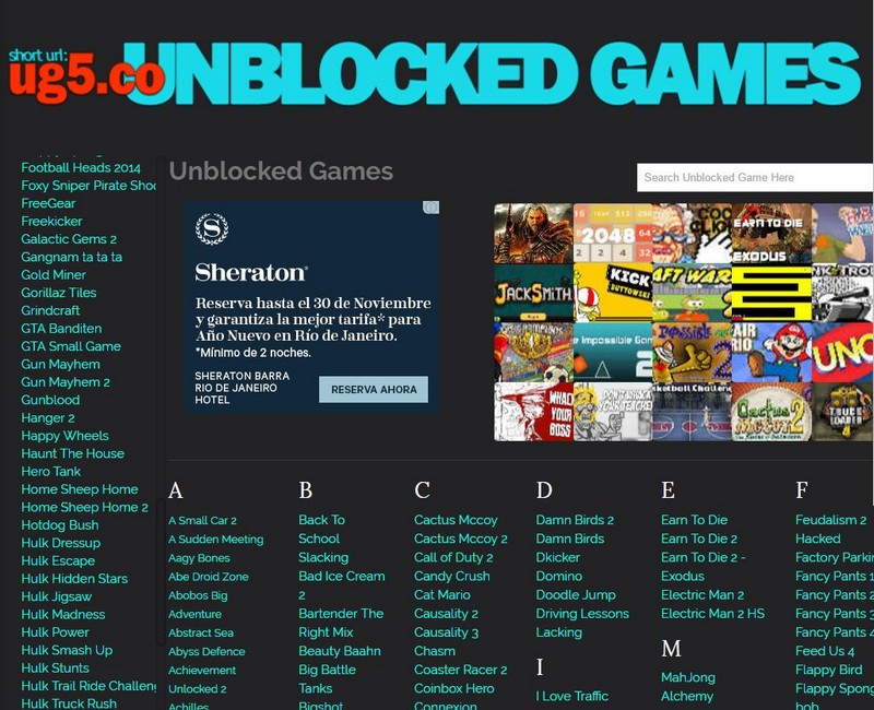 The Best SItes to Play Unblokced Games at School - How to Play Unblocked Games at School? - Best Websites to Play Unblocked Games and GEO Restricted Games
