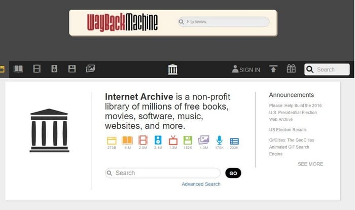 The Internet Archive for the Hidden Web - Top 10 Best Deep Web Search Engines to Explore Hidden Web