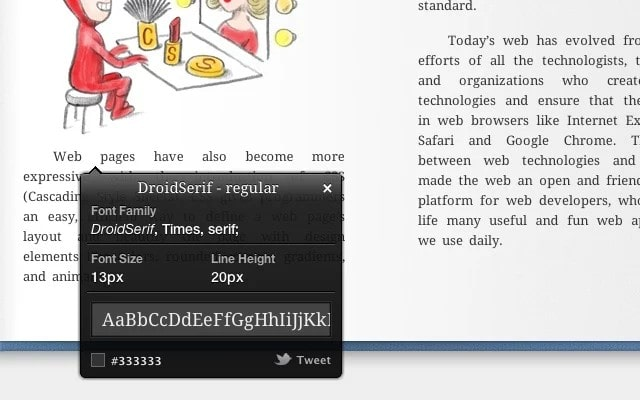 whatfont - Best Chrome Extensions - Best Chrome Extensions for Developers to Simplify Complex Task