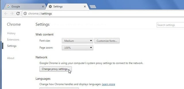 proxy-settings - Change IP Address - TRP Guides: How to Change IP Address in Windows?