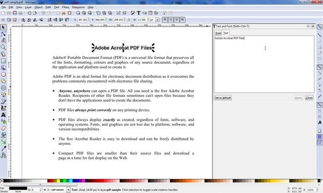 inkscape - 10 Best PDF Editors to Edit PDF Files