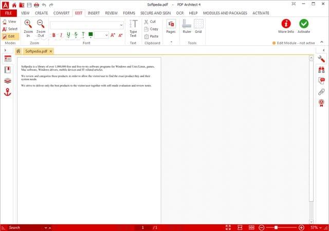 pdf-architect-4-standard - 10 Best PDF Editors to Edit PDF Files