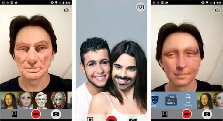 SWPR Face swapping for Android - Live Face Swap App - Best Face Swap Apps - Top 7 Best Face Swap Apps for Android to Have Fun with Your Photos