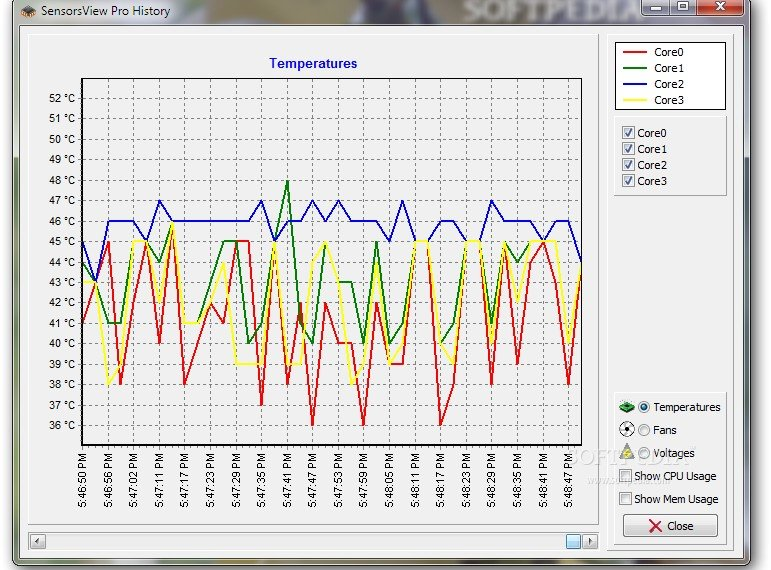 SensorsView Monitor CPU Temp - Best CPU Temp Monitor Software - Top 10 Best CPU Temp Monitoring Programs to Monitor CPU Temperature