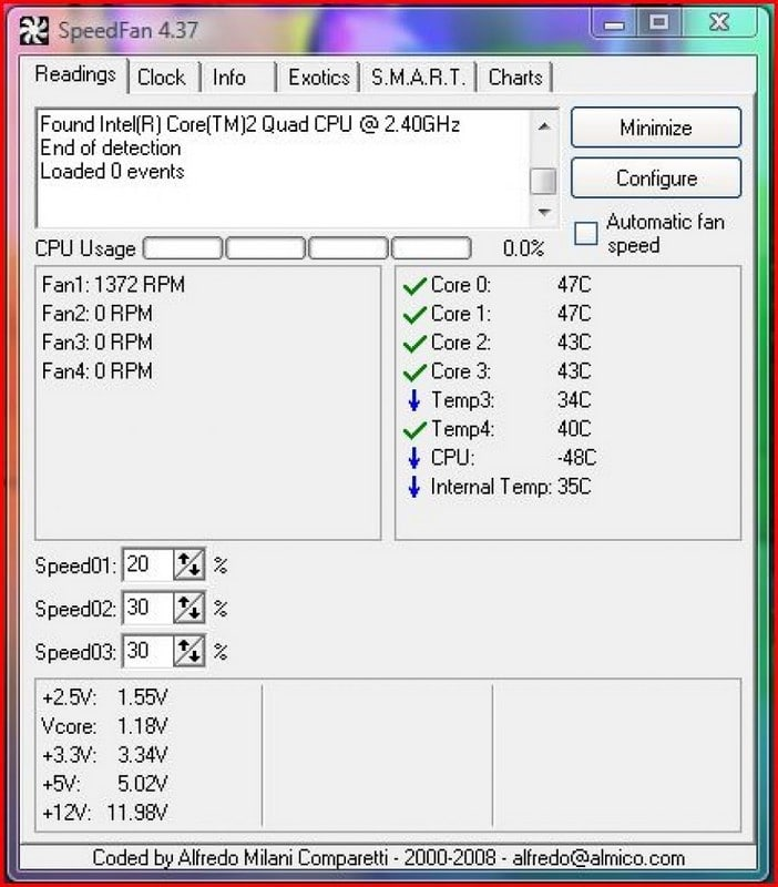 SpeedFan - CPU Temp program - Best CPU Temp Monitor Software - Top 10 Best CPU Temp Monitoring Programs to Monitor CPU Temperature