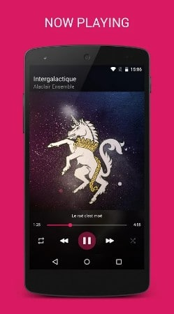 blackplayer - best music players for Android - Best Android Music Player - Top 8 Best Music Player Apps for Android to Supercharge Your Music Experience