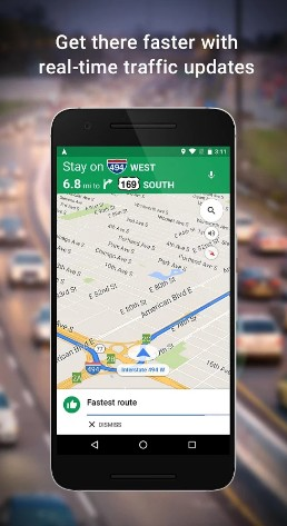 google maps - best navigation apps for android - navigation apps for Android - Top 9 Best Free Navigation Apps for Android - best apps for navigation
