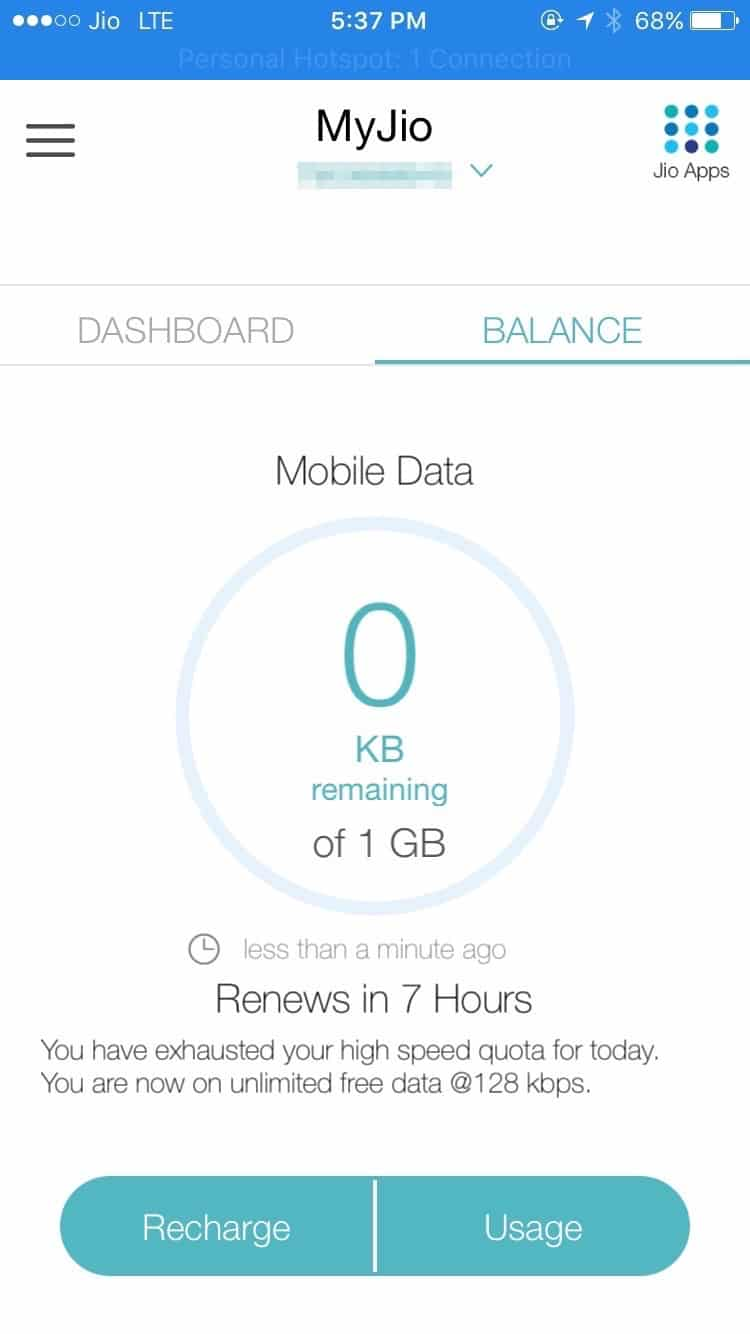 How to Remove Reliance JIO 1GB Speed Cap Limit on iPhone