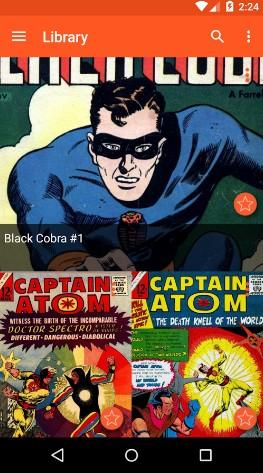 astonishing comic reader - best comic apps for Android - Comic Book Reader App - Comic Book App for Android - Best Android Comic Book Reader Apps