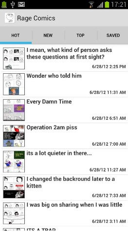 rage comics - best comic apps for Android - Comic Book Reader App - Comic Book App for Android - Best Android Comic Book Reader Apps