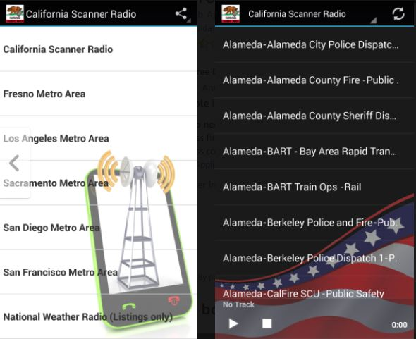 California Scanner Radio Free - Best Police Scanner Radio App for Free- Best Police Scanner Radio App for Free - Best Police Scanner Apps for Free on Android